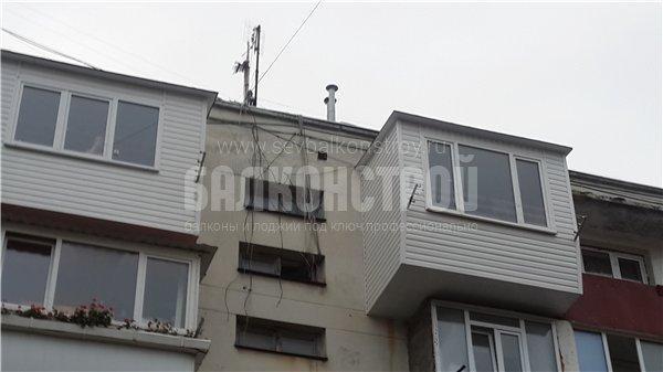 Балкон под ключ. Фадеева, 25а