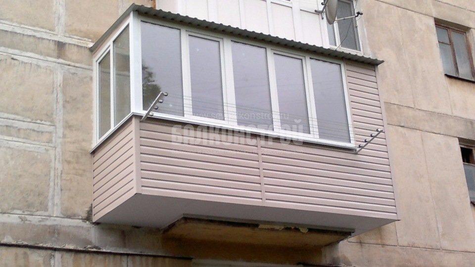 Балкон под ключ. Гагарина, 17а