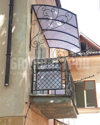 Балкон под ключ. Хрулева, 18