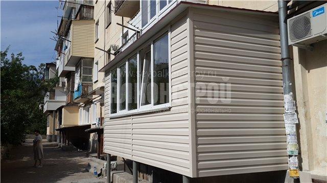 Балкон под ключ. Ефремова, 20