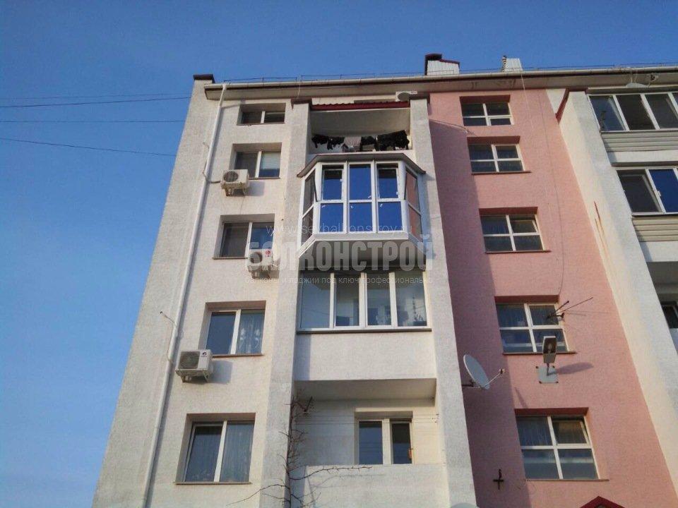 Балкон под ключ. Корчагина 20