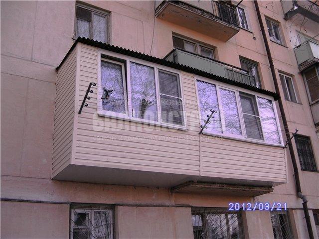Балкон под ключ. Острякова 17