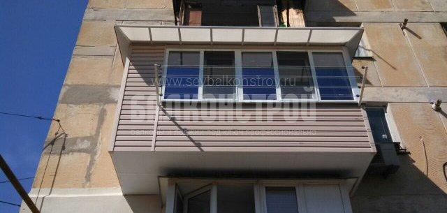 Балкон под ключ. Охотская, 5