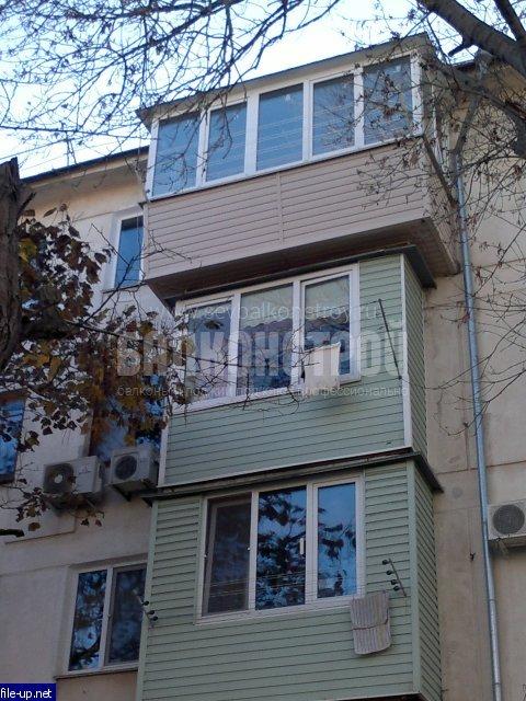 Балкон под ключ. Киевская 15