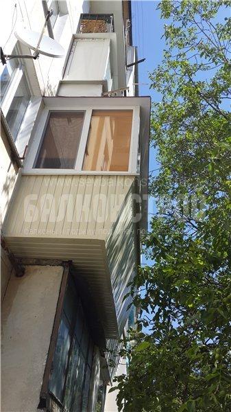 Балкон под ключ. Острякова 123