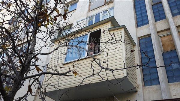 Балкон под ключ. Острякова 168а