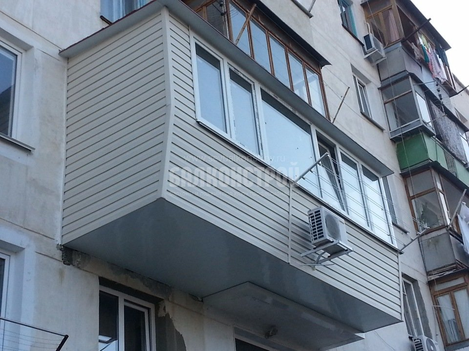 Балкон под ключ. Рубцова 12