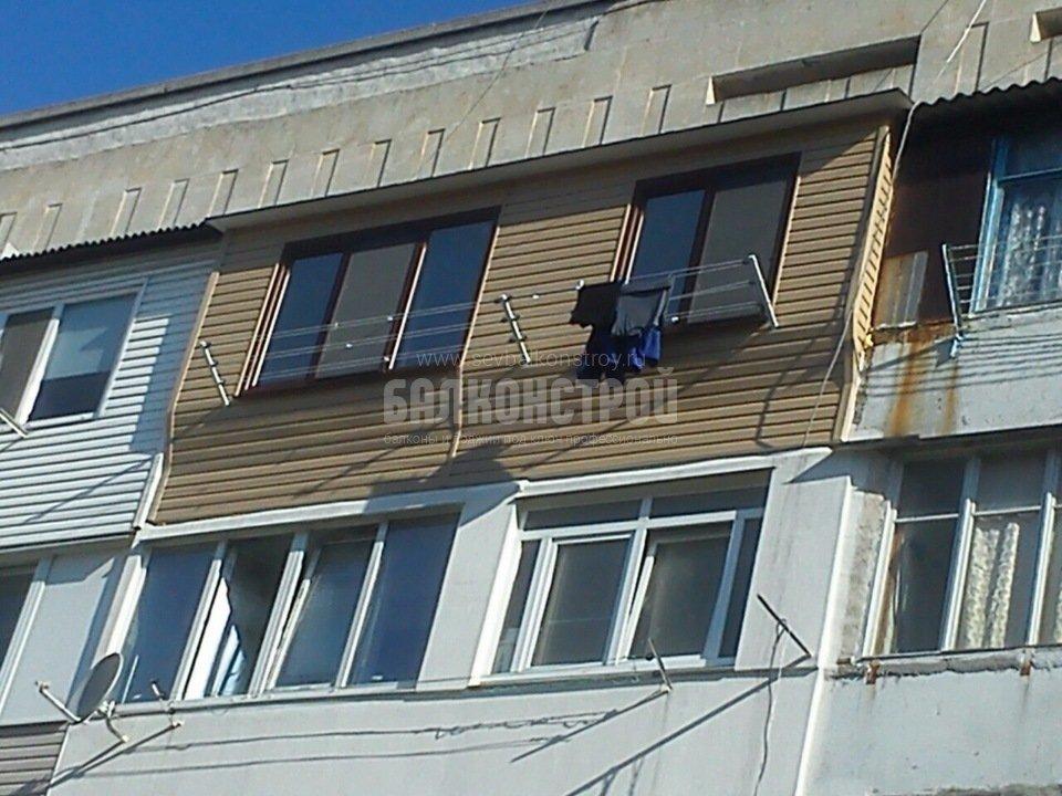 Балкон под ключ. Шевченко, 27
