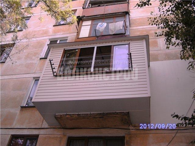 Балкон под ключ. Толстого, 25