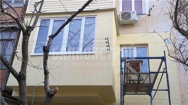Балкон под ключ. Жидилова, 4
