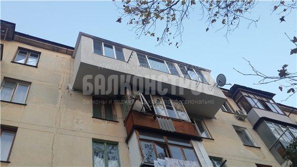 Балкон под ключ. Острякова 57