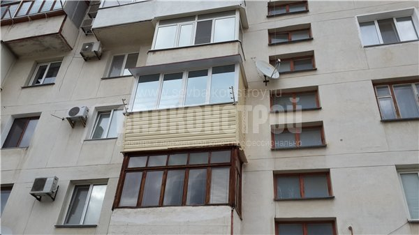 Балкон под ключ. Комунистическая 34