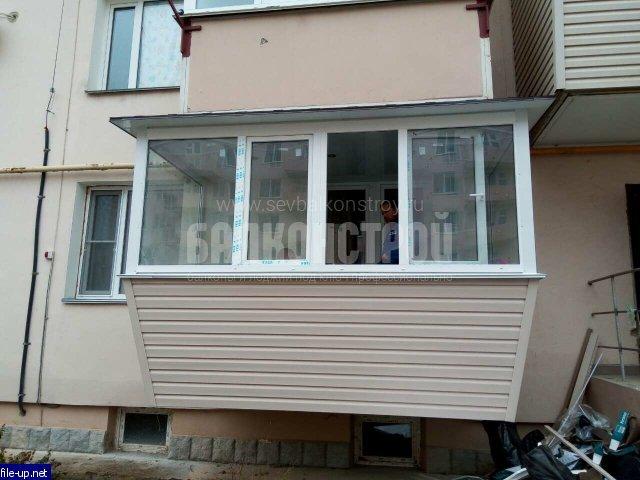 Балкон под ключ. Симонок 53