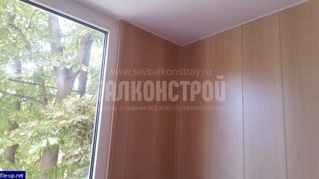 Отделка балконов. Толстого 4а
